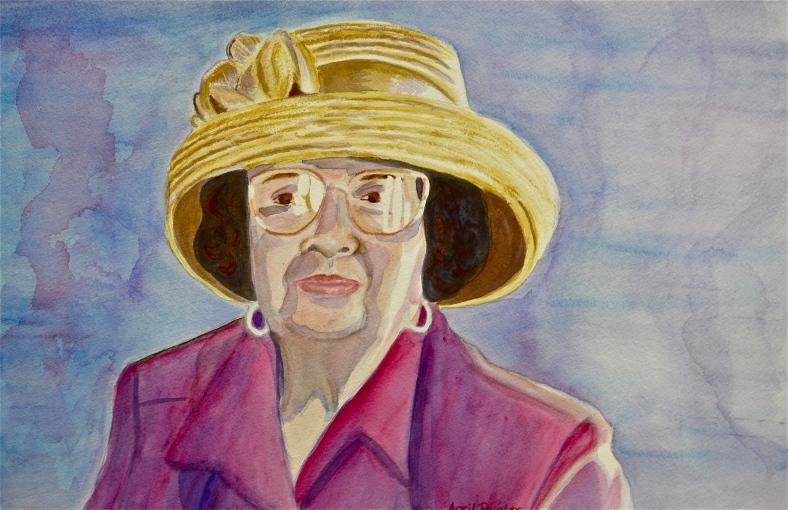 April Painter's Portrait of her Mother.