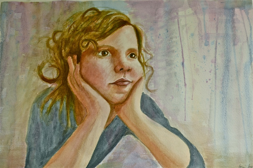 Corrin Brewer, Portrait of her  Sister