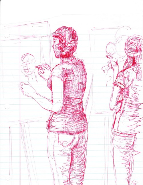 Students Life Drawing
