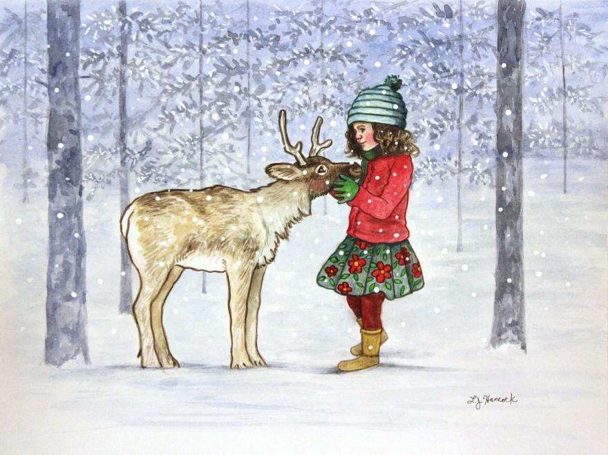 ReindeerSnow