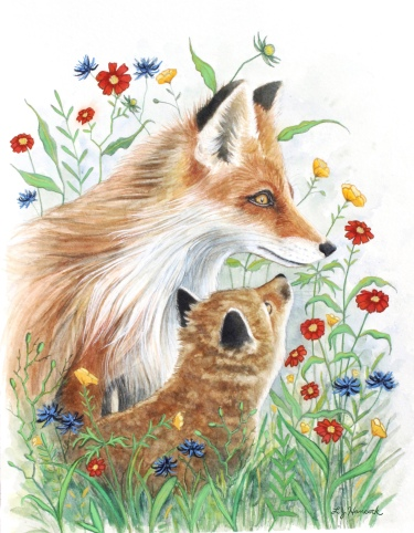 Foxes and Florals