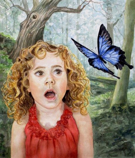 Blue Butterfly NFS