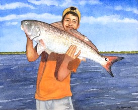 Tyler & Red Fish