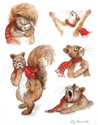 Squirrel Emotions